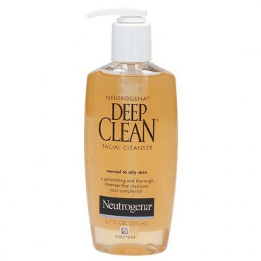 Neutrogena Deep Clean Facial Cleanser- 200ml