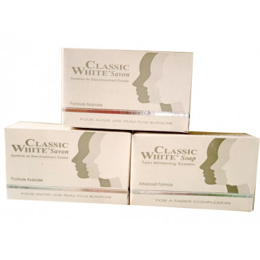 Classic White Soap - Twin Whitening System