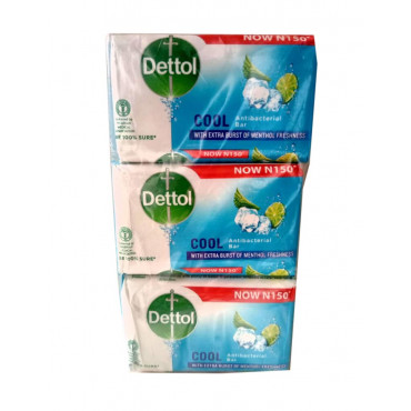 Dettol Cool Anti-Bacterial Soap